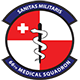 Logo: 66th Medical Squadron - Hanscom Air Force Base